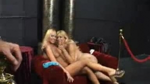 Mature blonde fucking young pussy